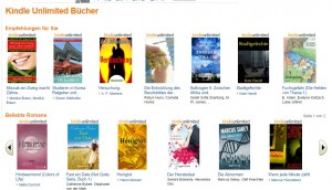 kindle-unlimited - empfehlung